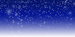 Snow background. Vector illustration with falling snowflakes. Winter snowing sky. Eps 10.