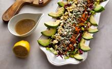 Close Up Of Cobb Salad Served ...