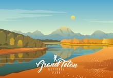 Grand Teton National Park. Nat...
