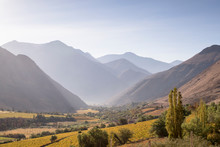 Landscape Of Elqui Valley, Chile