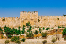 Golden Gates Of Jerusalem On T...