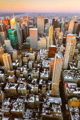 Papiers peints Barcelona Upper Manhattan in New York, United States.
