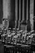 Chair In Cathedral Of Notre-Da...