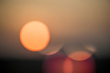 Sunset With Lens Flares