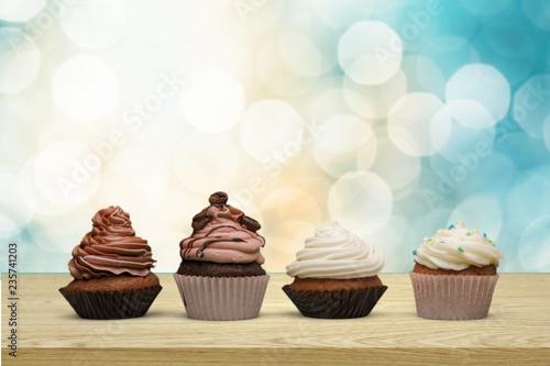 Photo  Cupcake.