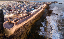 Aerial Panorama Of Essaouira C...
