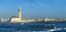 Hassan II Mosque In Casablanca...