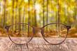 canvas print picture - Brille gegen Sehschwäche bringt scharfen Durchblick