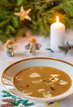 Polish Christmas Mushroom Soup...
