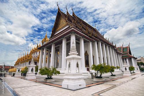 Deurstickers Asia land Wat Ratchanatdaram