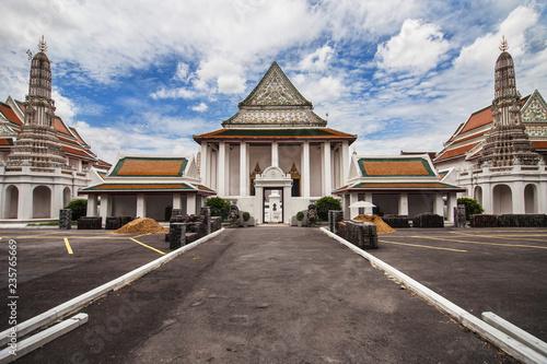 Deurstickers Asia land Wat Thepthidaram