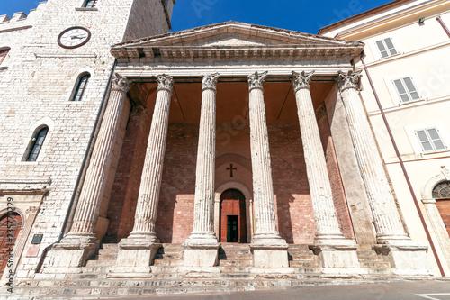 Temple of Minerva (Chiesa di Santa Maria sopra Minerva)  a Unesco world heritage Wallpaper Mural
