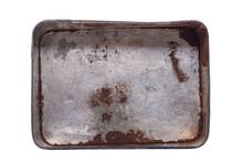 Inside Of Antique Rustic Tin M...