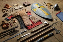 Collection Of Medieval Weapons...