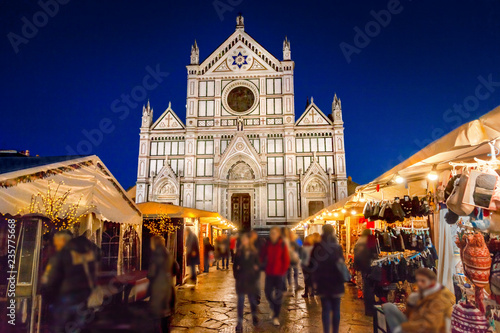 Lieu d Europe Christmas market in Florence