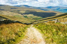 Bridle Way Leading To Arten Gill Viaduct