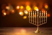 Vector Hanukkah Jewish Holiday...