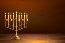 Vector Hanukkah Jewish Holiday...