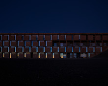 Facade Of ESO Hotel At Paranal...