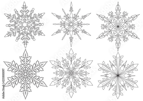 Free Printable Snowflake Coloring Pages For Kids   Snowflake ...   355x500