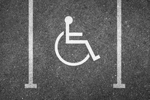 Handicapped Parking Spot Top V...