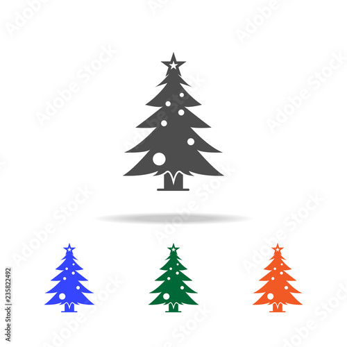 Christmas Holidays Icon.Christmas Pine Tree Icon Elements Of Christmas Holidays In