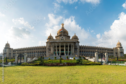 Photo  Vidhana Soudha,Bangalore,Karnataka,India