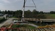 Dismantling of 174 Yesr Old Herr's Mill Covered Bridge in Amish Country