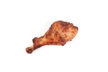 Roasted Turkey Leg Isolated On...