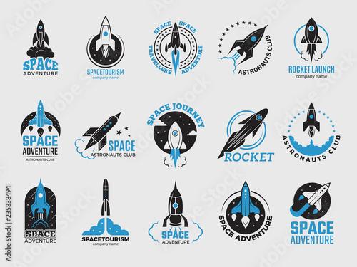 Obraz na plátne Rocket logo