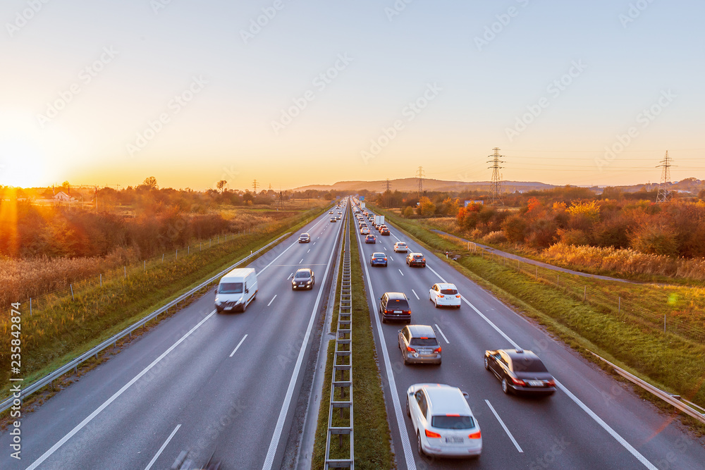 Fototapety, obrazy: Polish highway