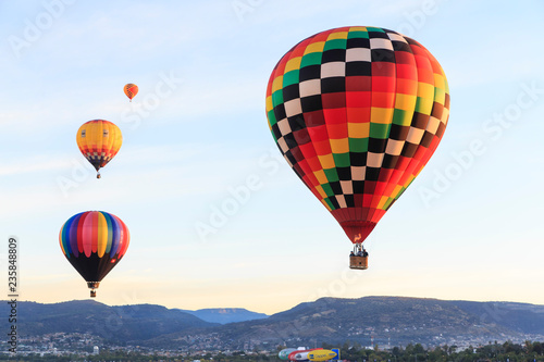Photo aerostatic balloon festival