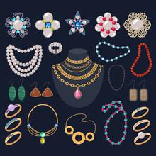 Jewelry Vector Jewellery Gold ...