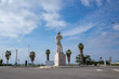 canvas print picture - Marseille city, Statue of David
