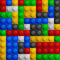 Konstruktor boja blokira bešavnu pozadinu