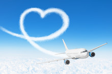 Love Heart Cloud Drawing By Ai...
