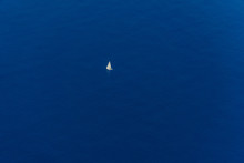 Sailing Yacht. Lonely Sailing ...