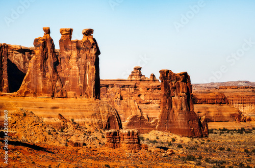 Tablou Canvas Three Gossips, Arches National Park
