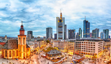 Frankfurt, Germany - November,...