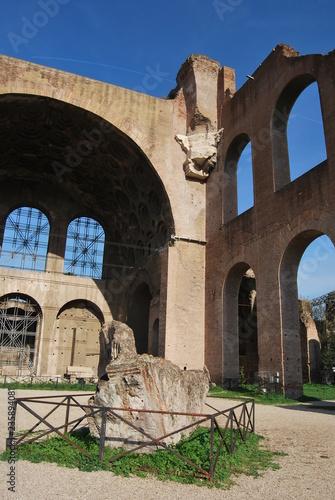 In de dag Palermo I Fori Imperiali, Roma, Italia
