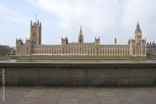 Fotografia The Palace of Westminster, London, England