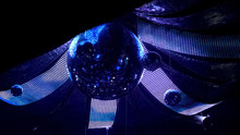 Rotating Disco Mirror Ball Wit...