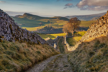 Lanes Above Stainforth, Stainforth Is A Village And Civil Parish In The Craven District Of North Yorkshire, England. It Is Situated North Of Settle.