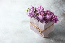 Natural Handmade Soap And Lila...