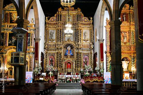 Photo sur Toile Edifice religieux Spain, Canary Islands, Tenerife, Puerto de la Cruz