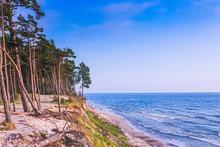 Dutch Hat Olando Kepure Beach Close To Karkle, Klaipeda, Lithuania
