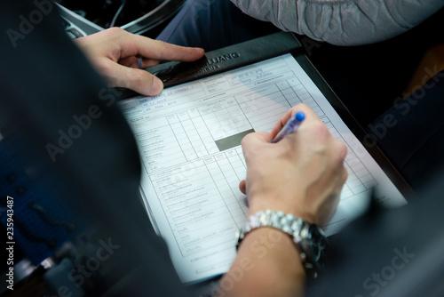 Bangkok, Thailand, 21 November 2018 service center Mercedes Benz Suanlung Autoha фототапет