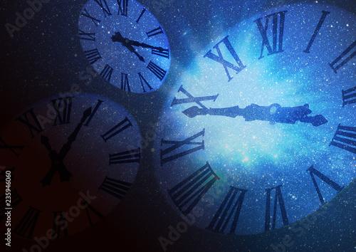 時間と空間のイメージ - 235946060