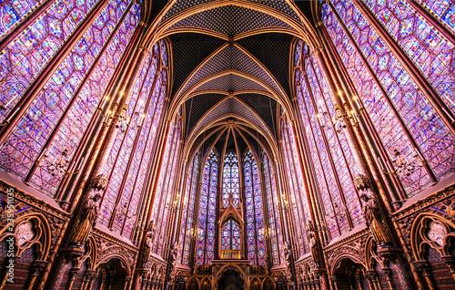 In de dag Centraal Europa Paris / Sainte Chapelle - Chapelle haute
