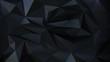 Geometric dark 3d background